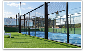 description du terrain Single de Padel Riviera Mougins